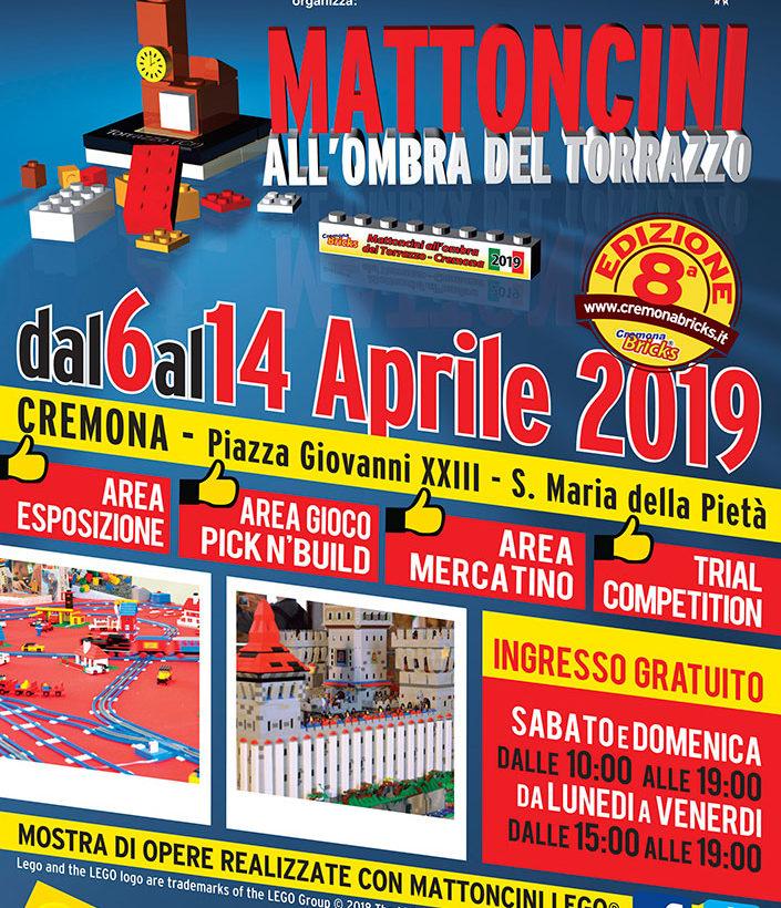 Mattoncini all'Ombra del Torrazzo 2019