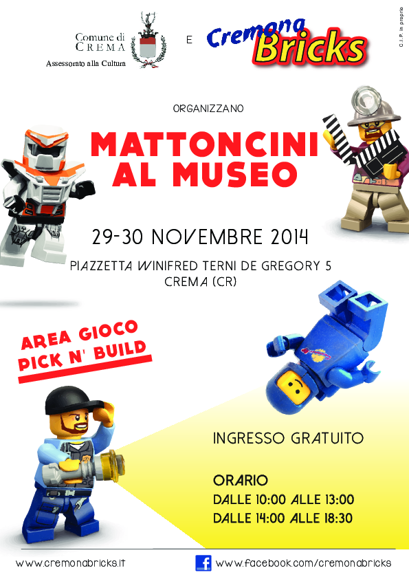Mattoncini al Museo 2014