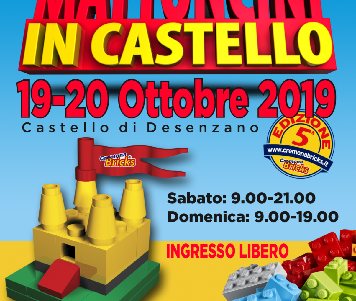 Mattoncini in Castello 2019