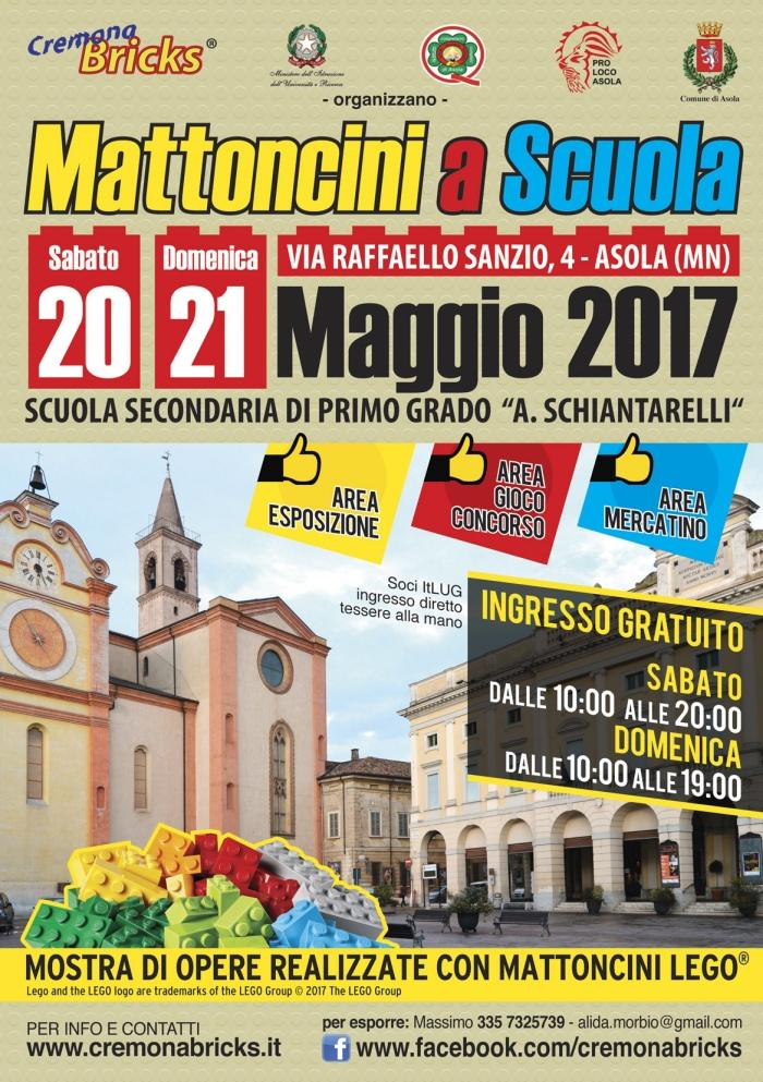 Mattoncini a Scuola 2017