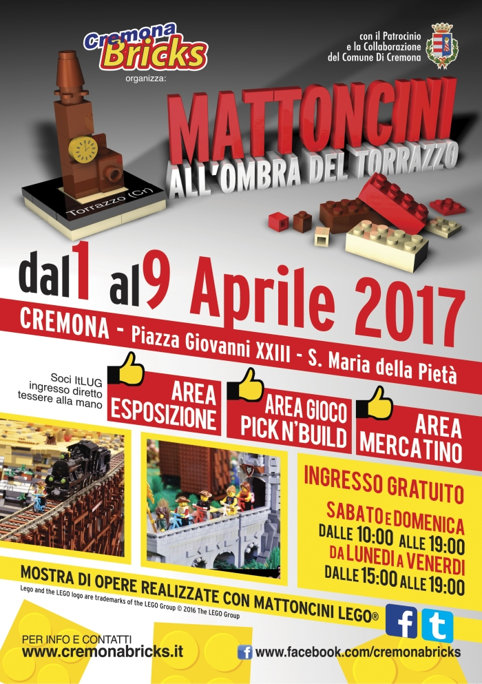 Mattoncini all'Ombra del Torrazzo 2017