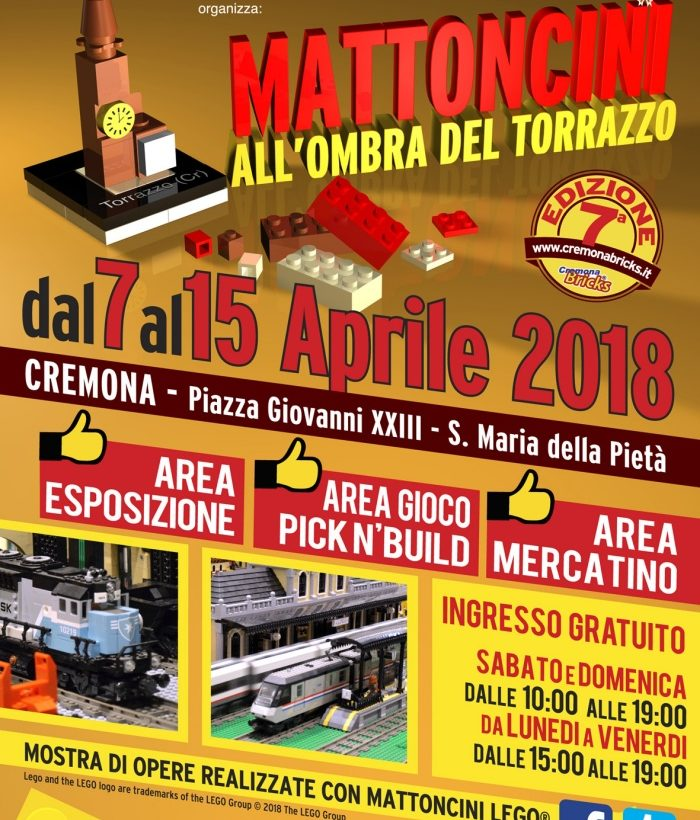 Mattoncini all'Ombra del Torrazzo 2018